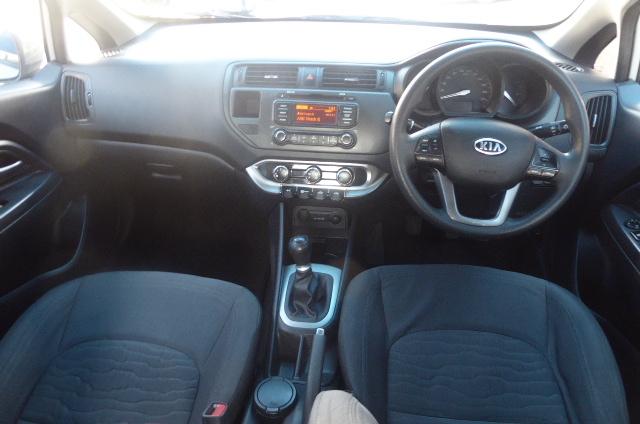 2012 Kia Rio sedan 1.2