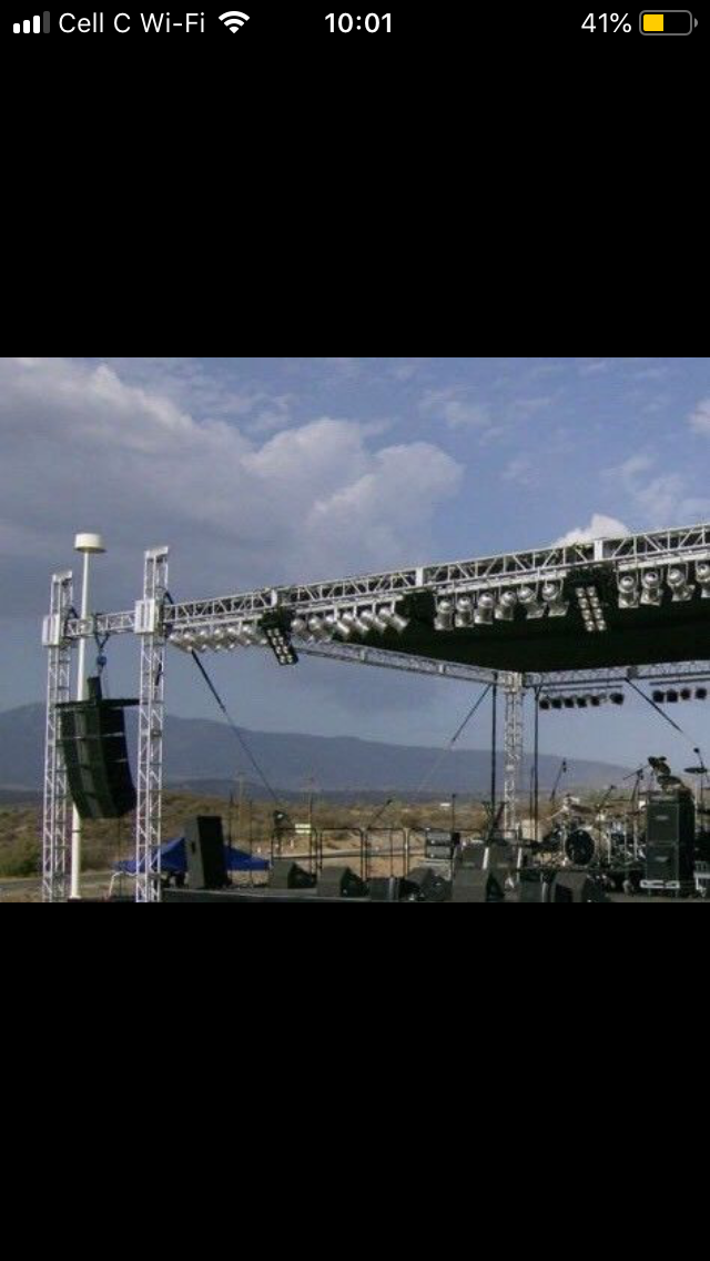 Vip Lounge, Waterproof Stretch Tent, Sound & Stage 4 Hire