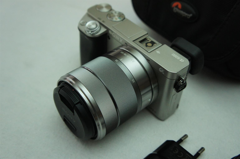 Sony Alpha a6000 24MP Mirrorless Camera 18-55mm Lens