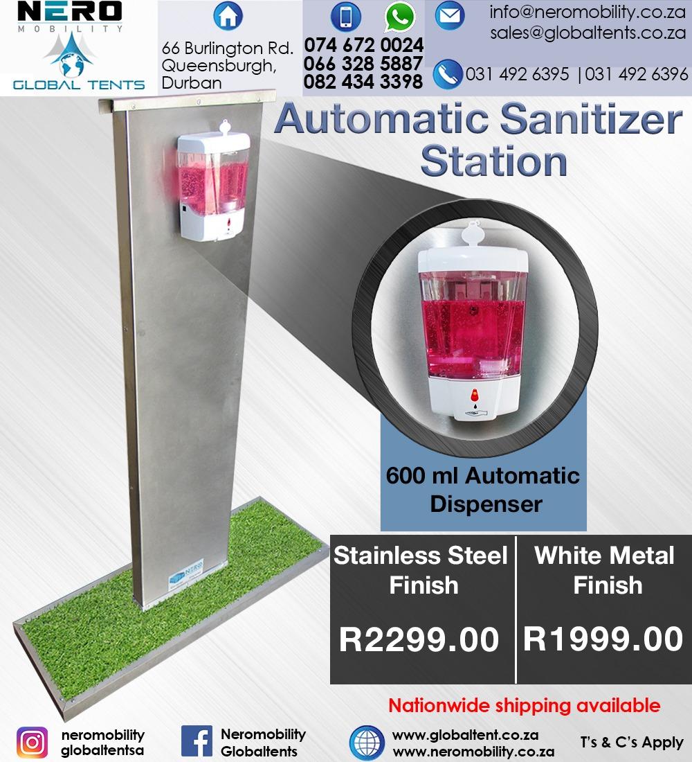 Automatic Sanitizing Station