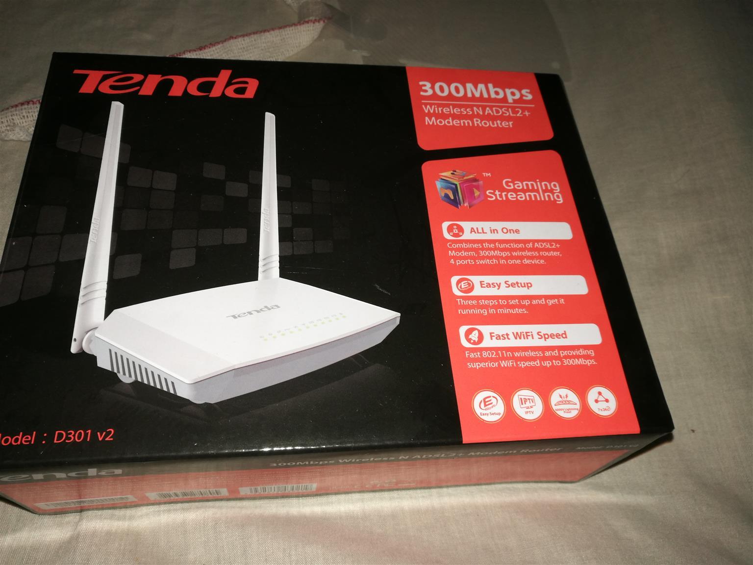 Tenda modem router ( Telkom)