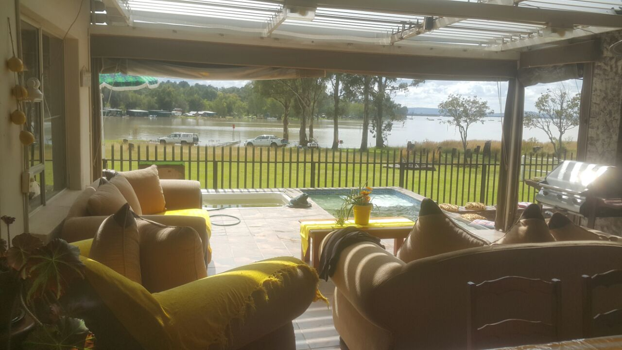 Large House on the Vaal Dam