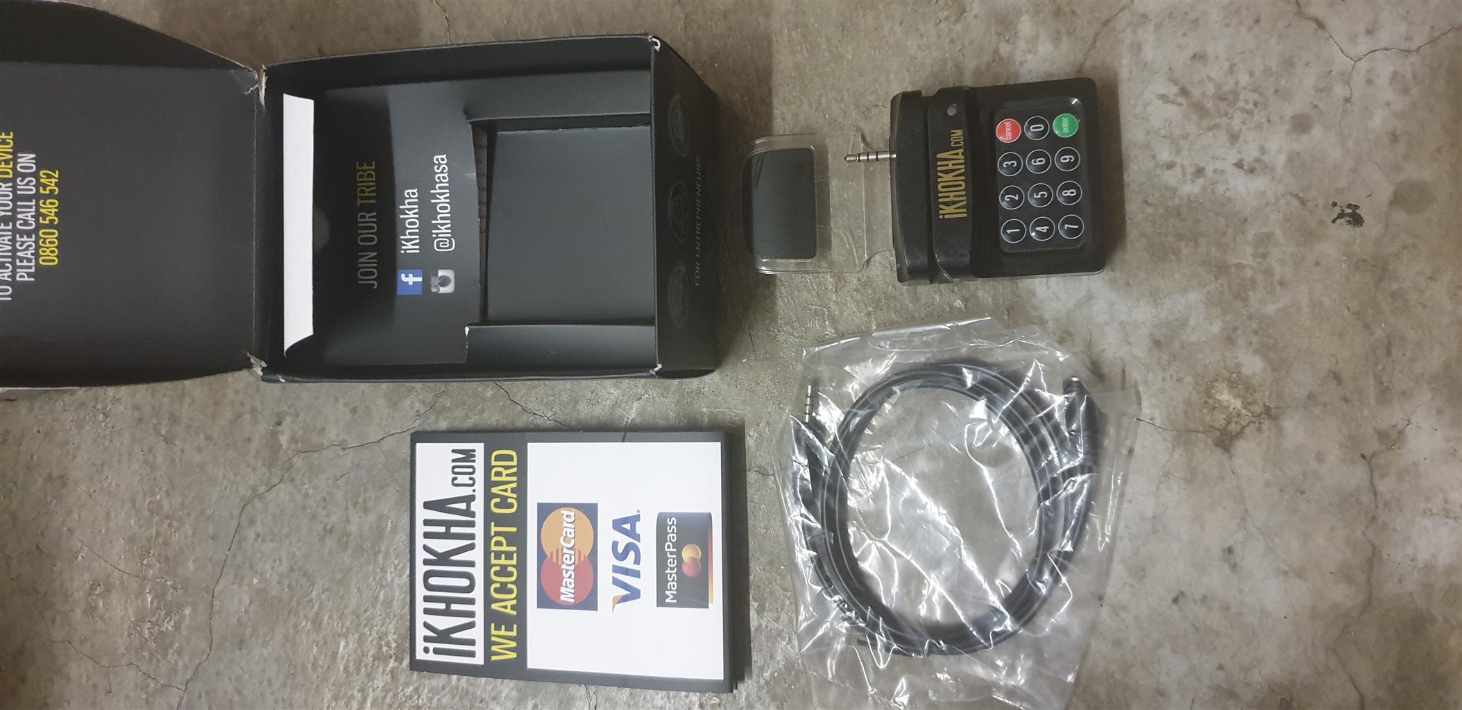 iKHOKHA Mobile Credit card Machine.