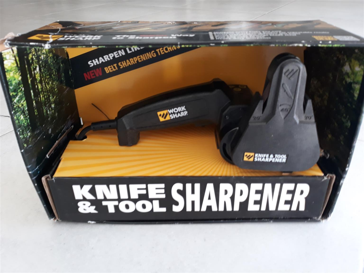 Knife and tool electric sharpener
