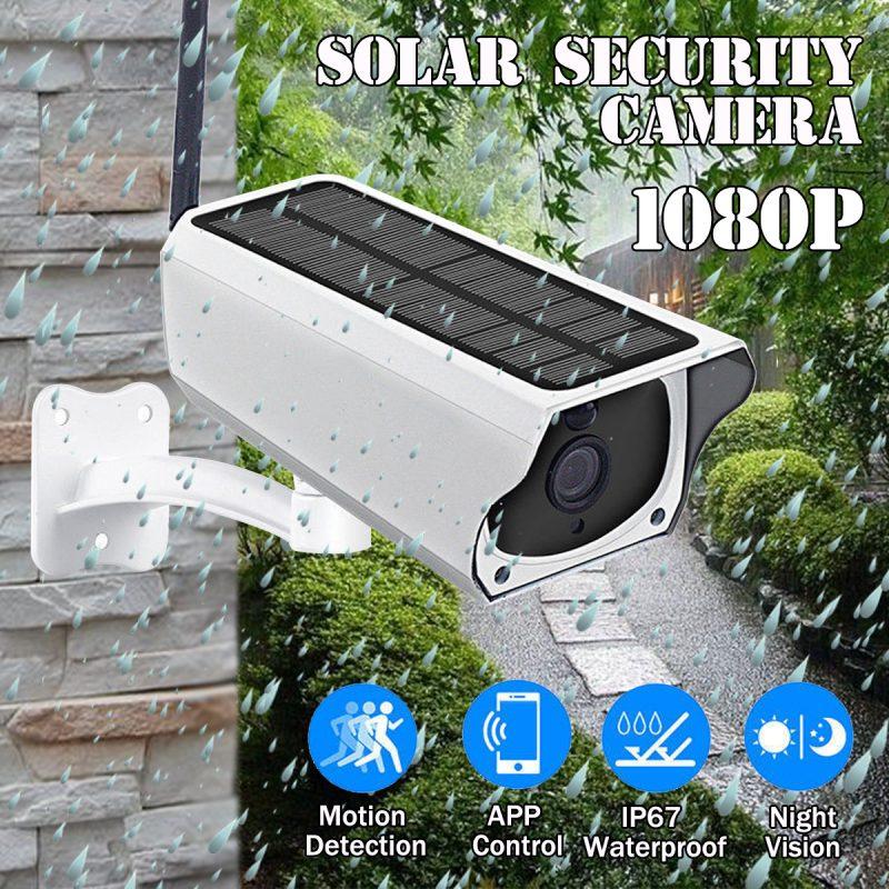 Outdoor Solar Wifi Camera