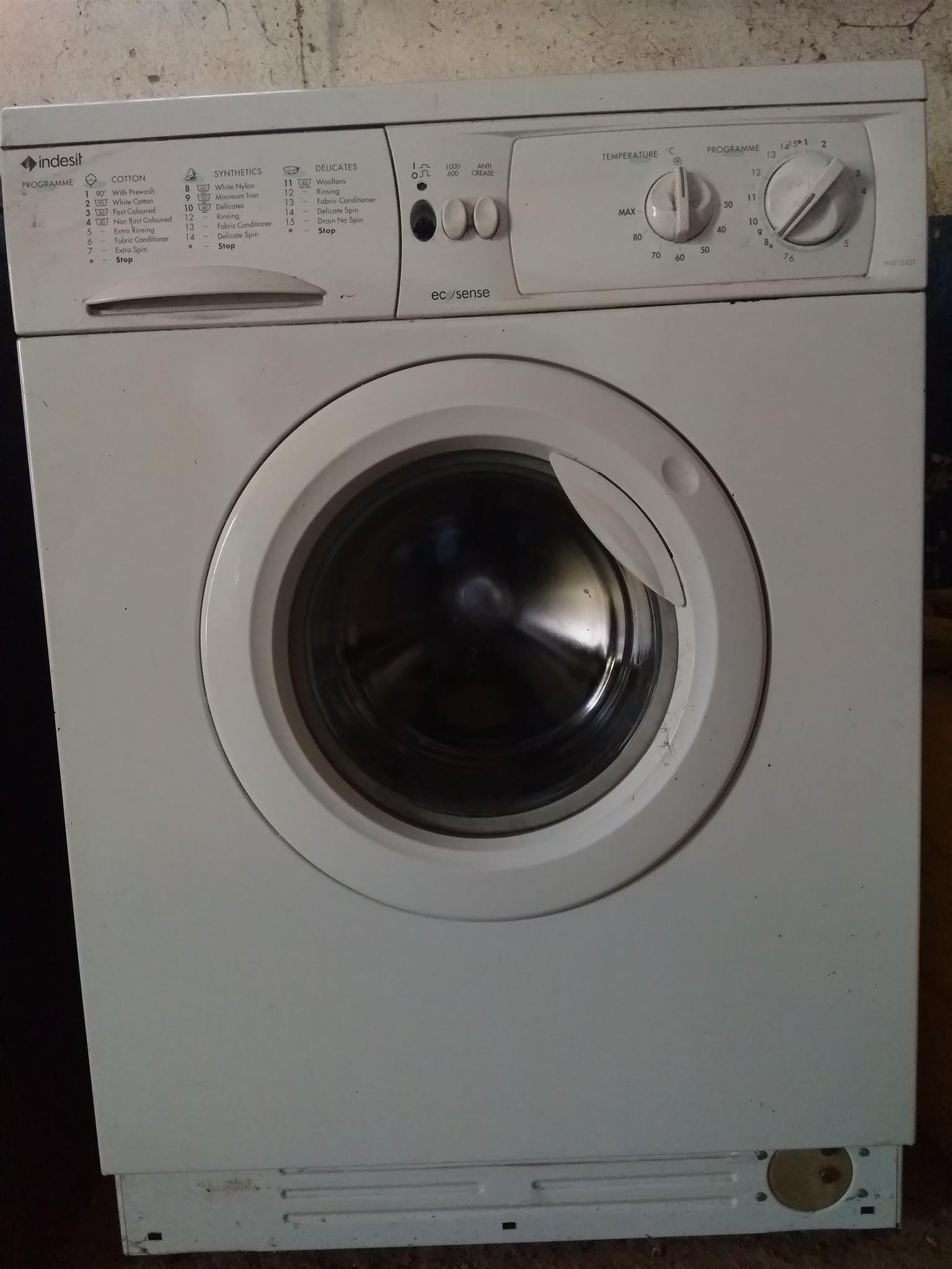 Indisit washing washing machines