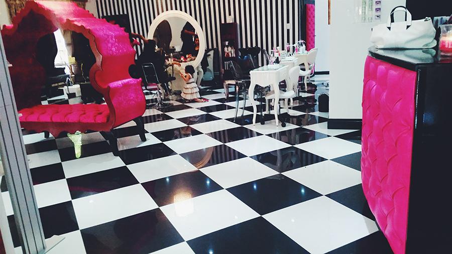 Upmarket beauty salon - Johannesburg