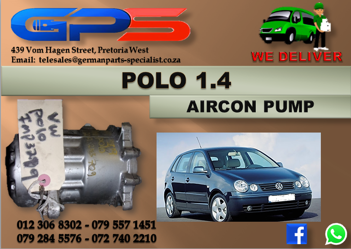 VW Polo 1.4 Aircon Pump Used Part for Sale