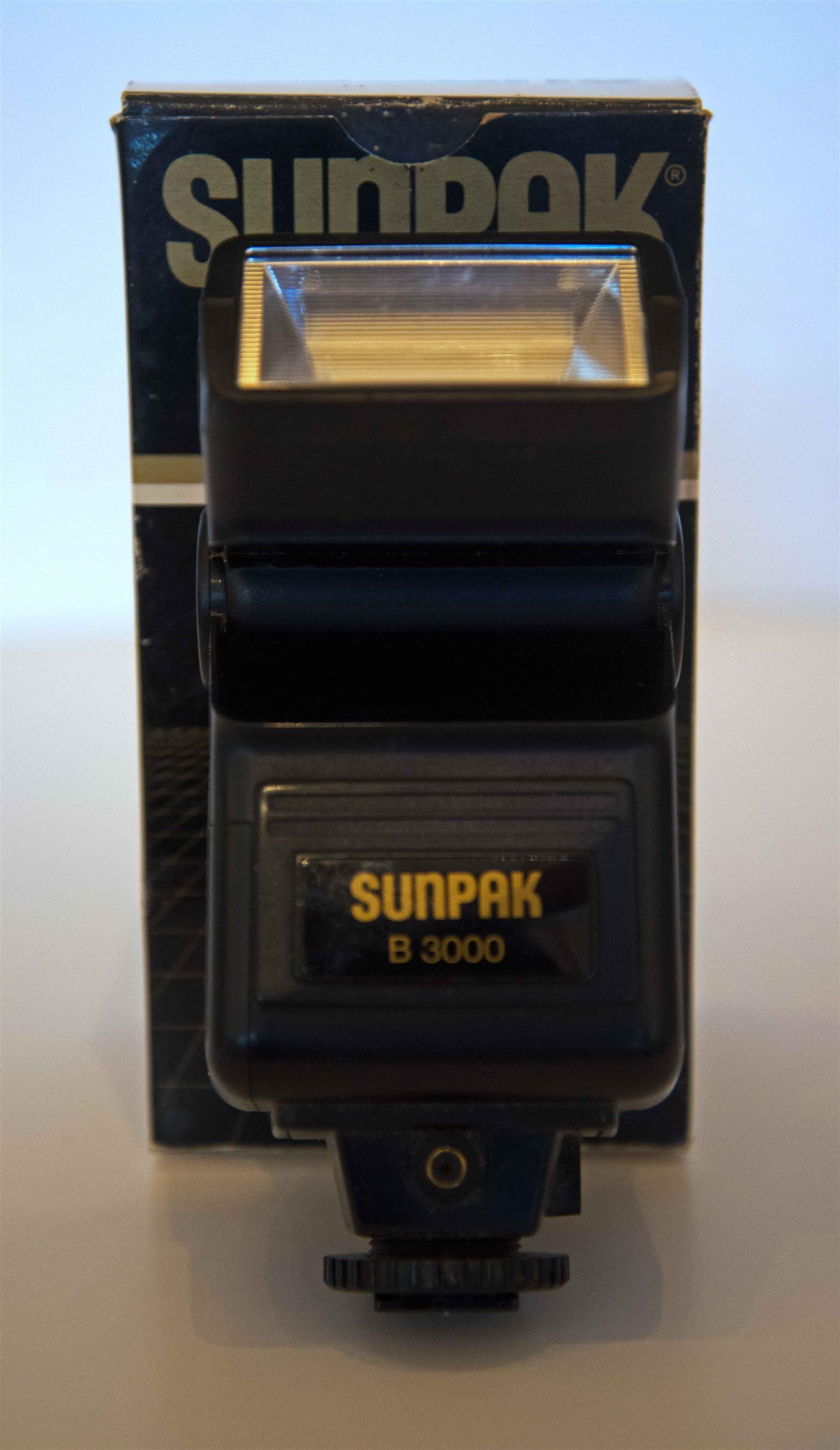 Sunpak electronic flash