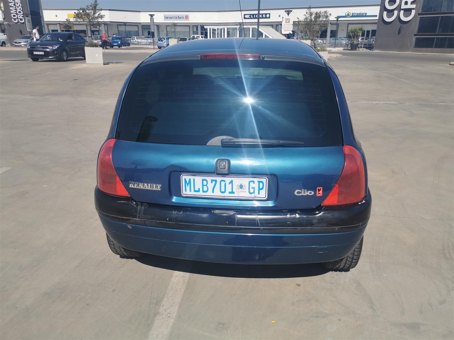 2001 Renault Clio 1.4 Expression 5 door