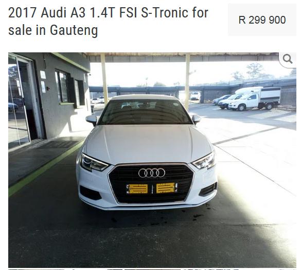 2017 Audi A3 Sportback A3 SPORTBACK 1.4 TFSI STRONIC