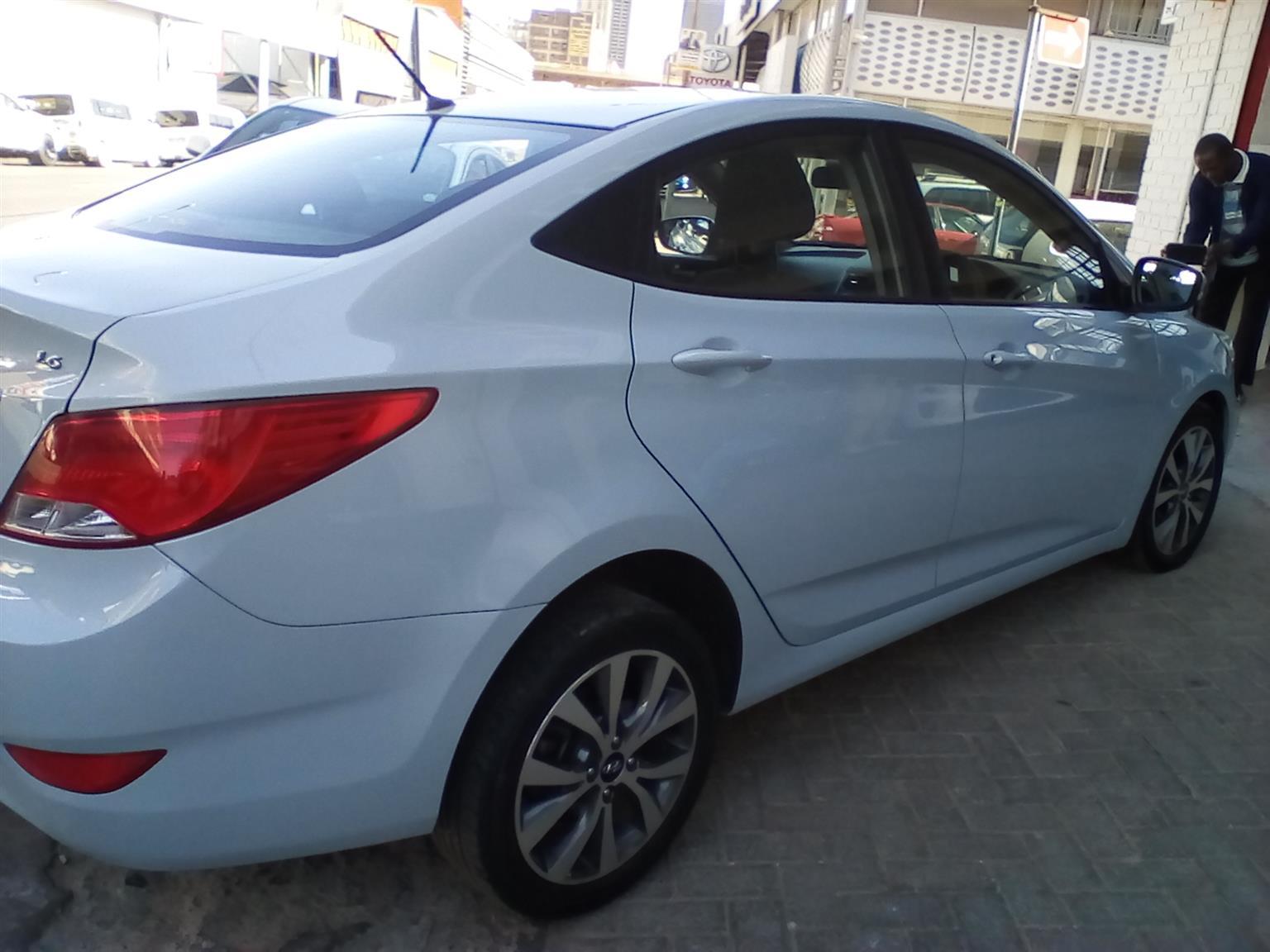 2015 Hyundai Accent 1.6 GLS auto