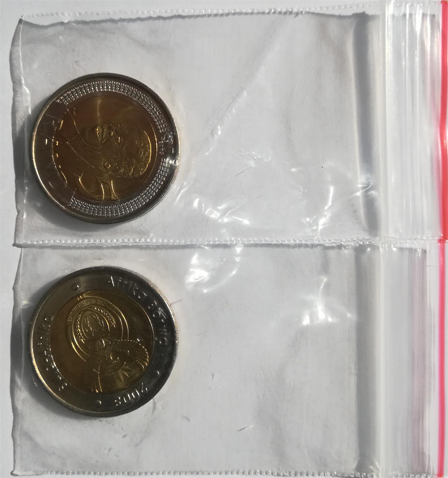 Madiba R5 coin