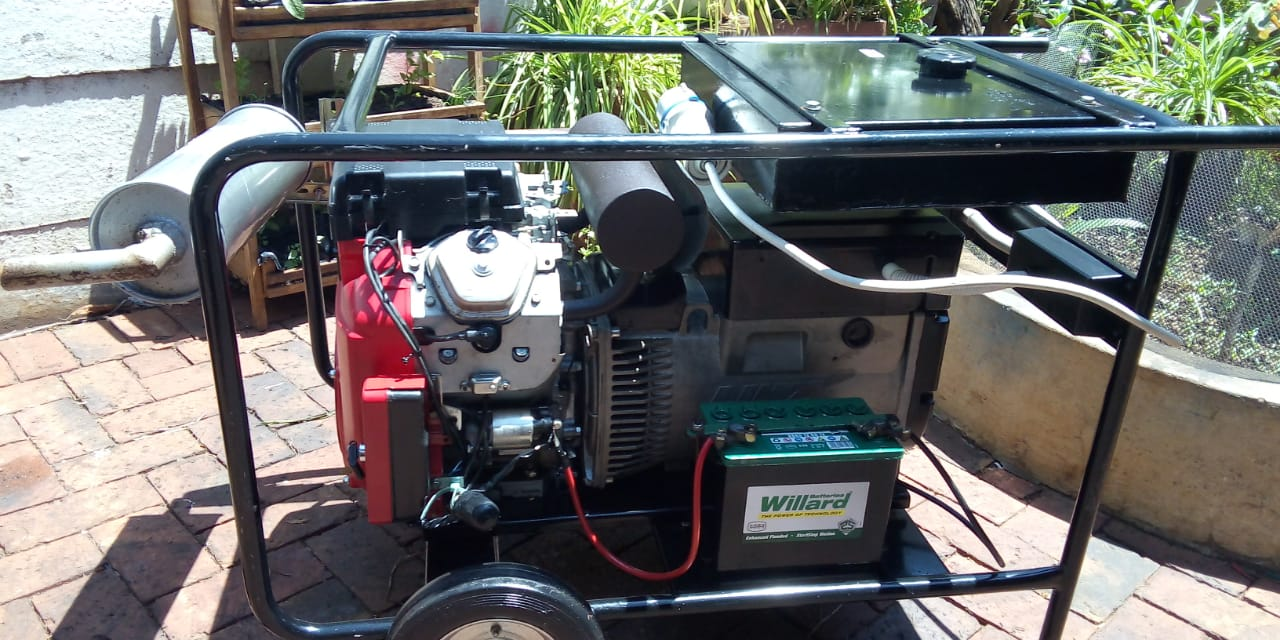 Honda 15Kva Generator Excellent Condition For Sale ONCO