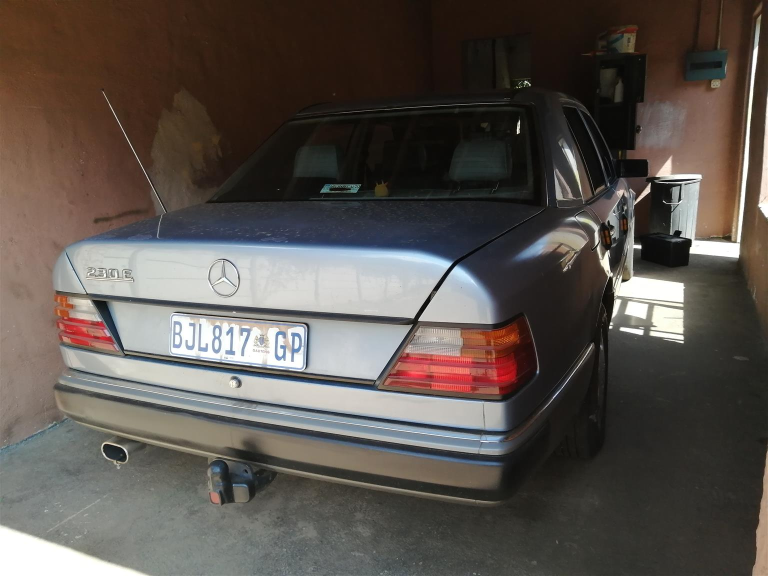To swap for any car or bakkie no bikes 1989 merc 230e 2.3 4 cylinder