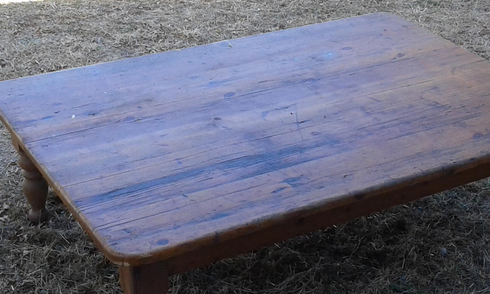 Antique Coffee Table.Solid Oak Antique Coffee Table Junk Mail