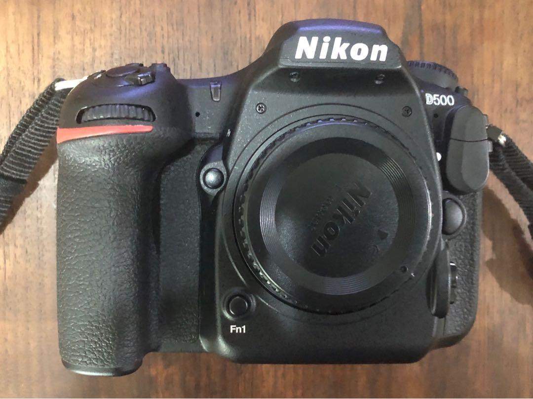 Used Nikon D500 fx camera