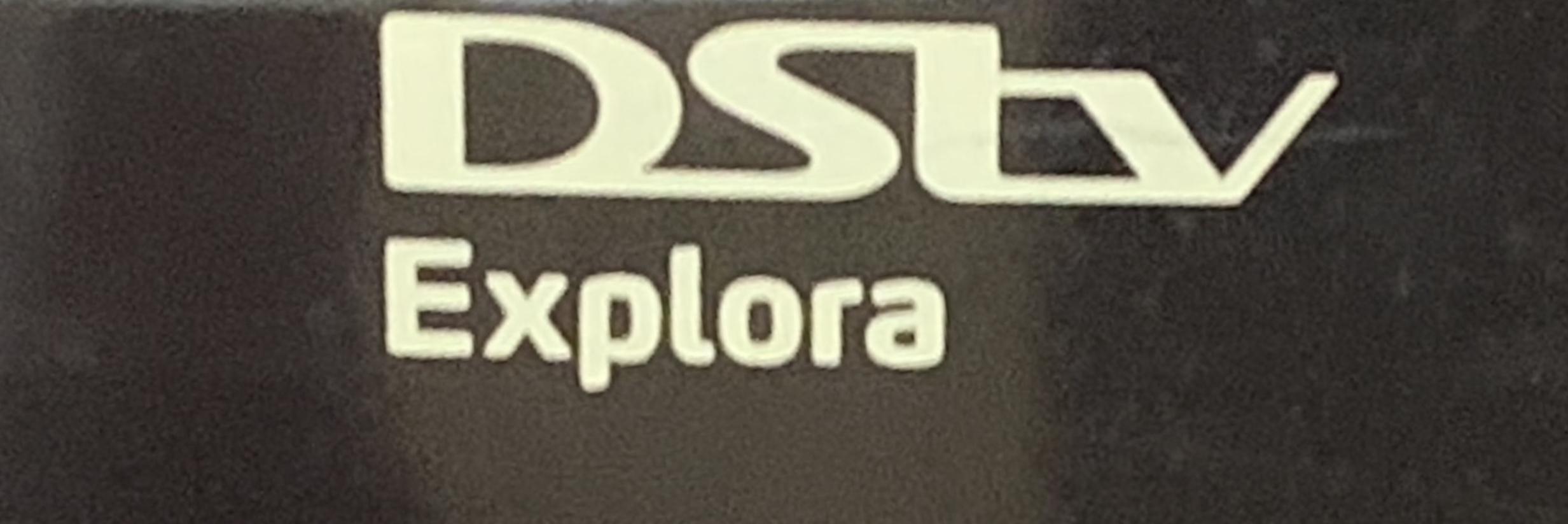 DSTV Explora model no: DPS5001IMC with remote control