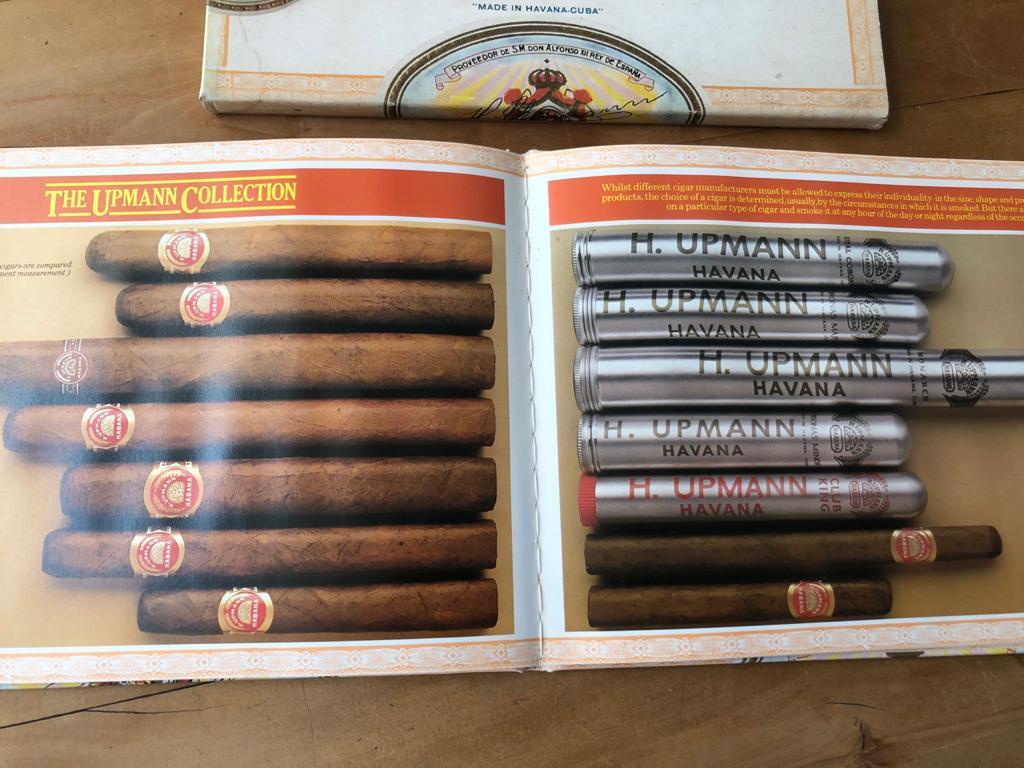 A Short Appreciation of Havana Cigars Hardcover – by H. Upmann