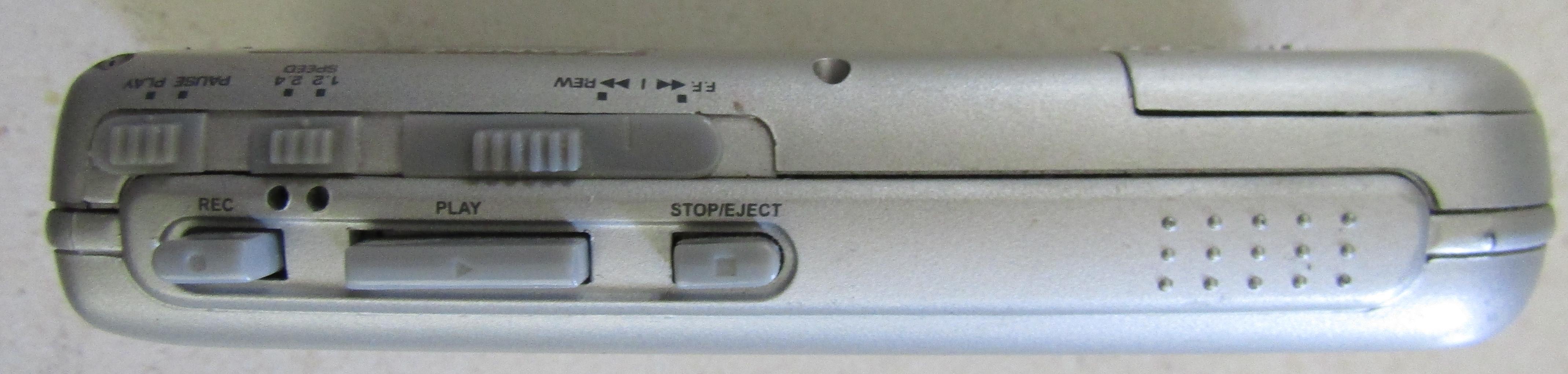 Sansui Personal Micro Cassette Recorder