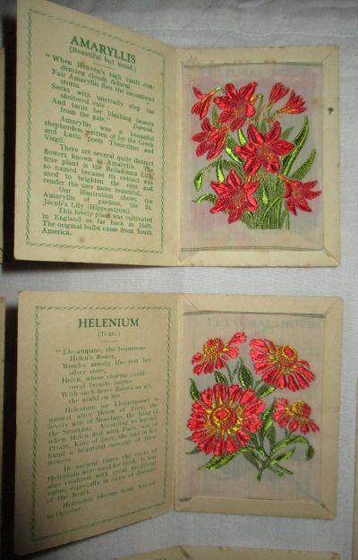 Beautiful miniture silk flowers