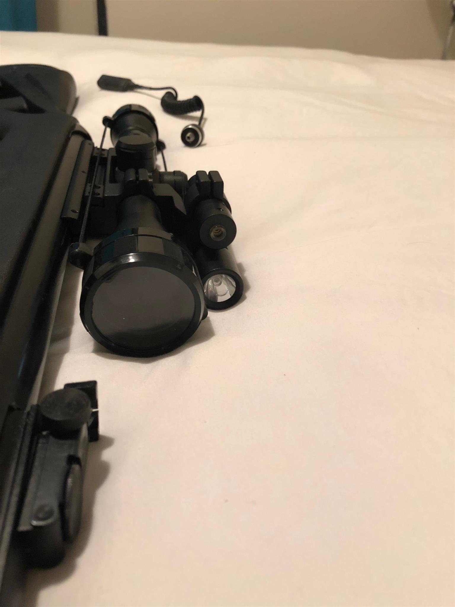 Air Rifle - Gamo 4.5mm Whisper-X Vampir