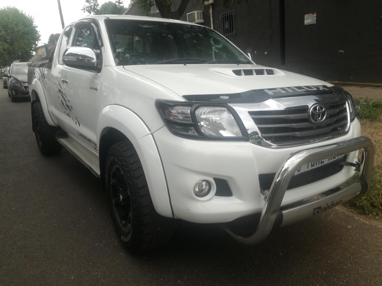 2014 Toyota Hilux 3.0D 4D double cab 4x4 Raider Legend 45