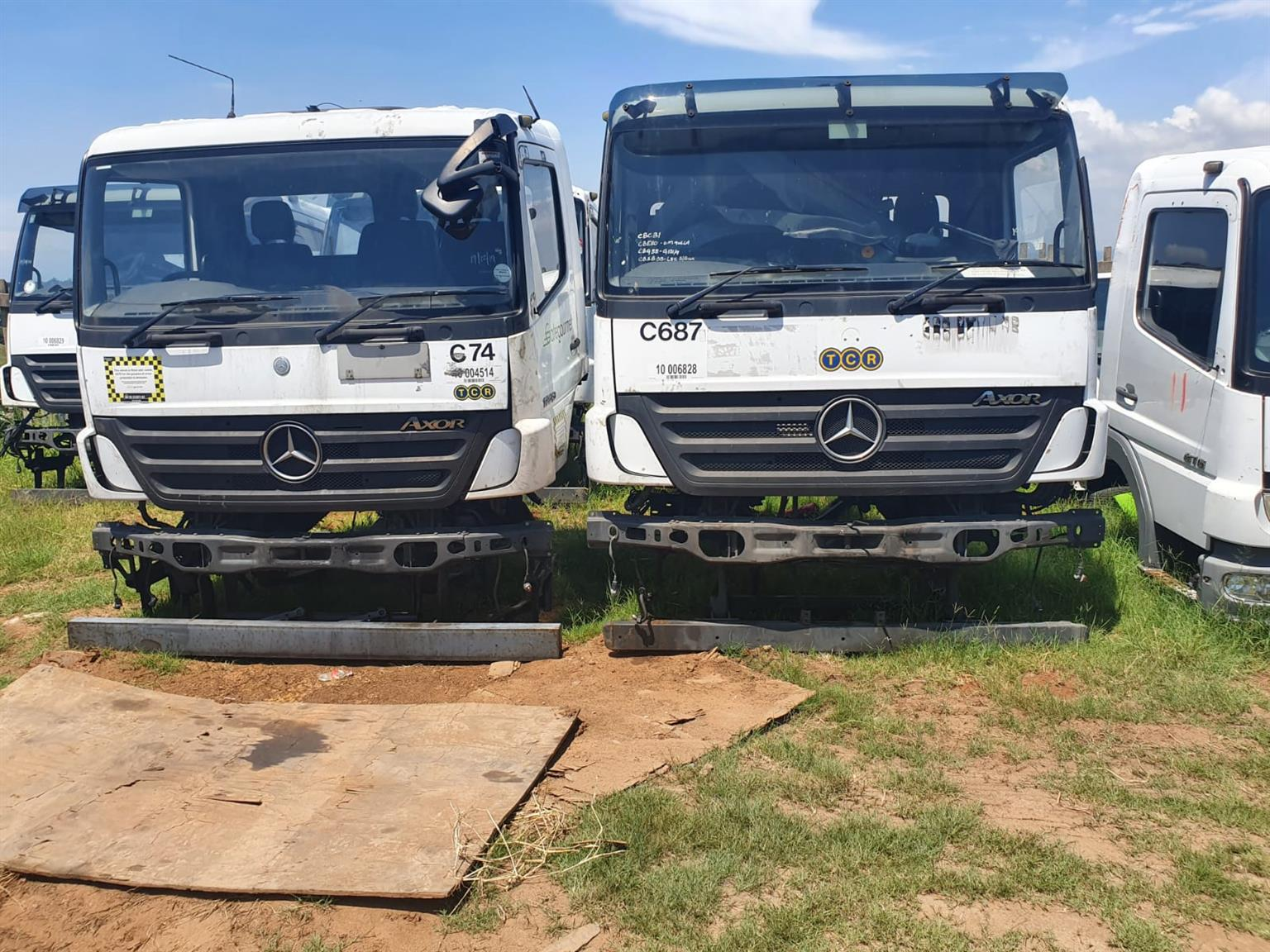 Mercedes AXOR MP2 Day Cabs