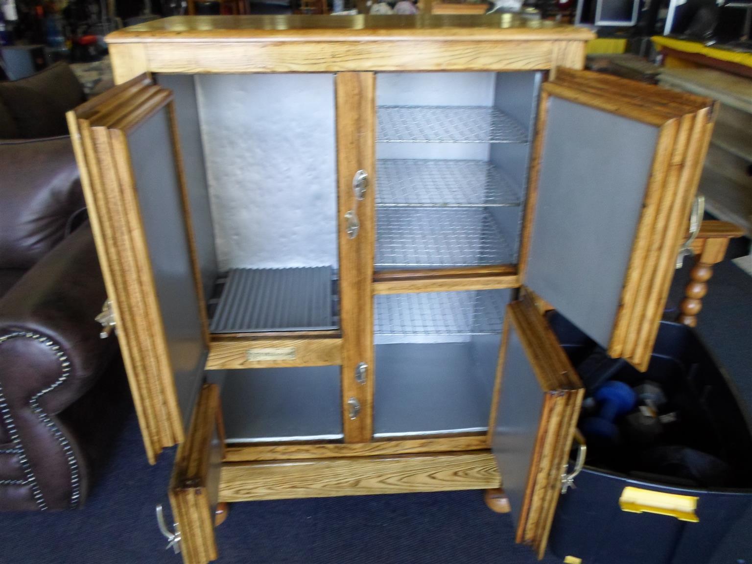 The Vermonter Wooden Antique Fridge / Freezer