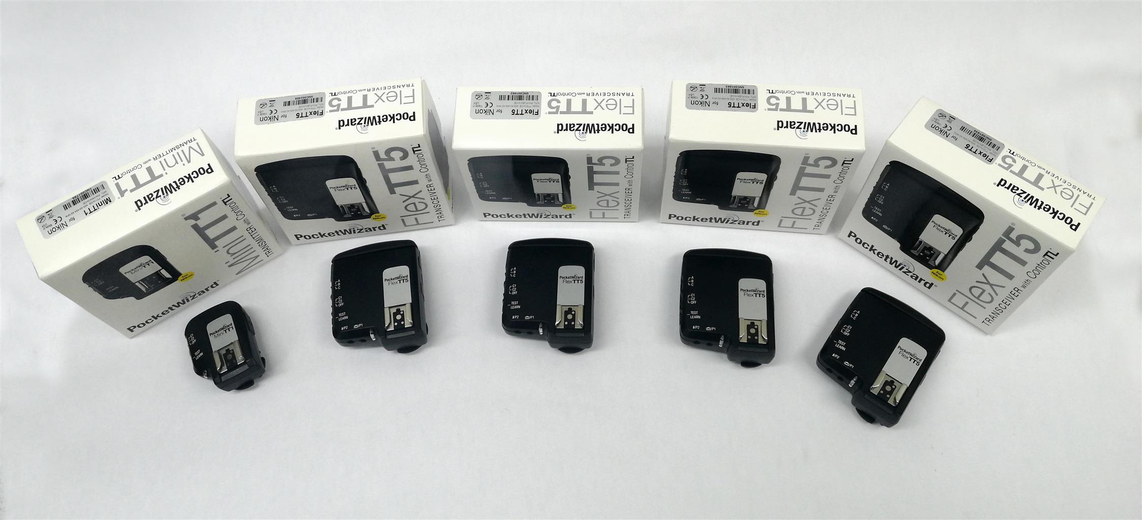 PocketWizard FlexTT5 Transceiver Radio Slave for Nikon i-TTL Flash System and Mi