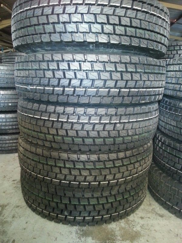 Brand new 315/80R22.5 tyres for sale on special pricing this August