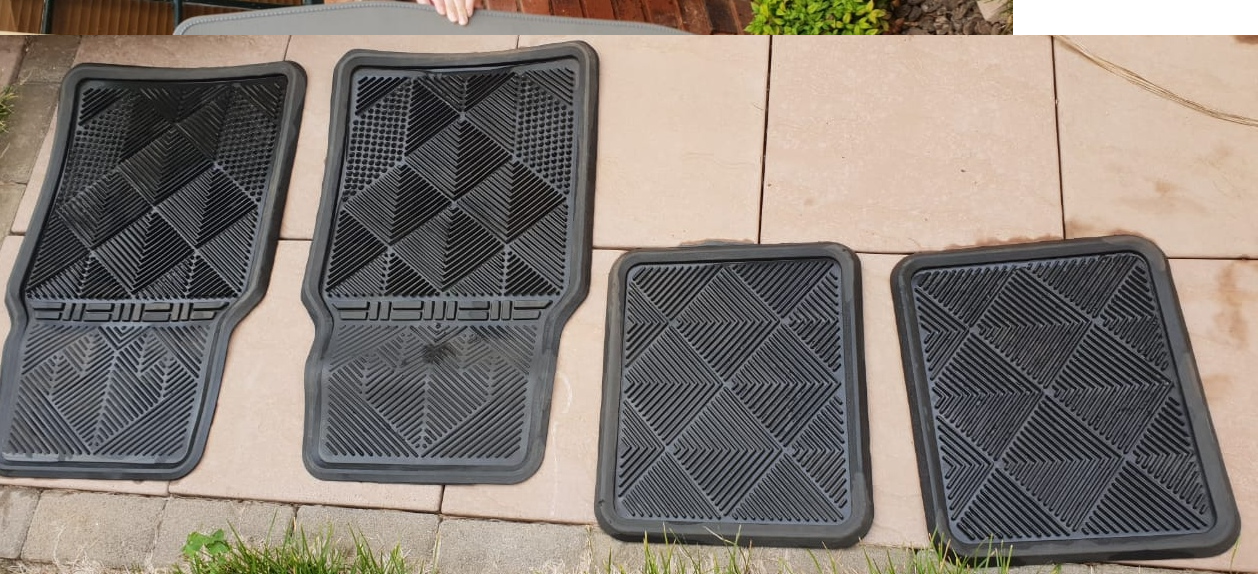 Escape Gear rubber mats for sale.