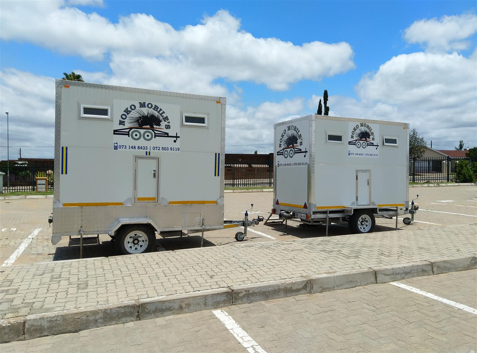 Mobile VIP toilets and freezers 4 hire polokwane and surroundings