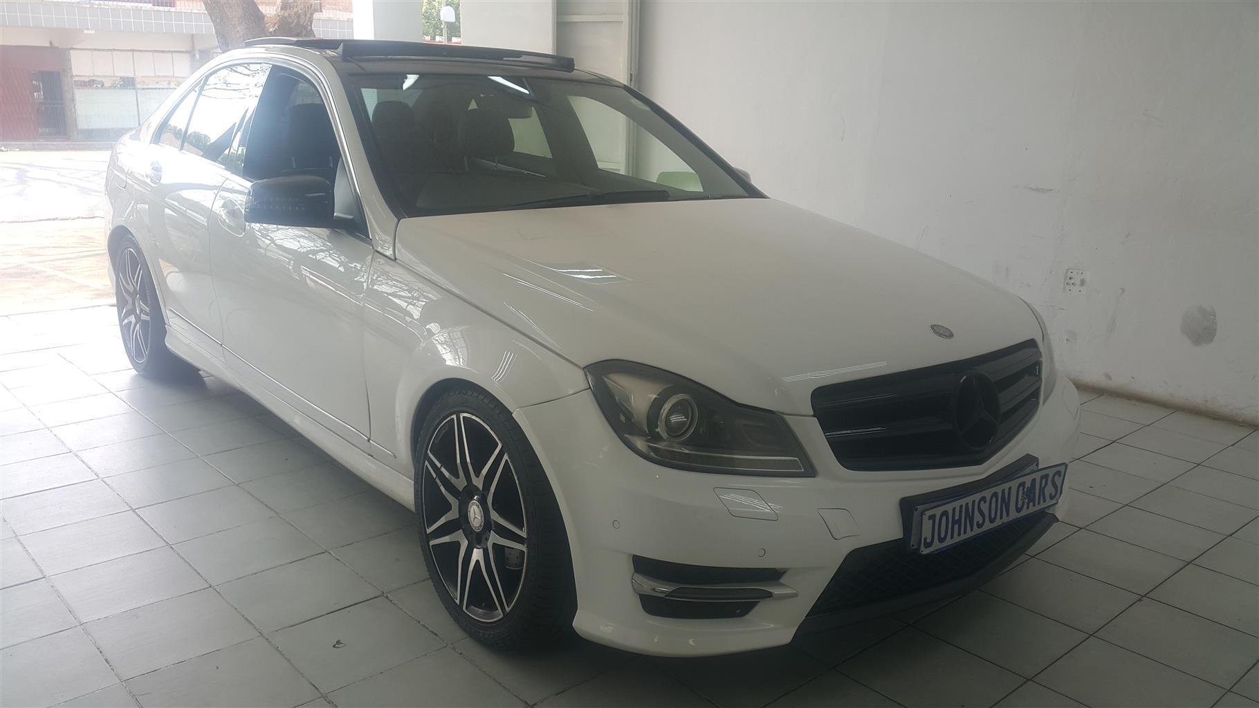 2013 Mercedes Benz C-Class sedan C200 AMG LINE A/T