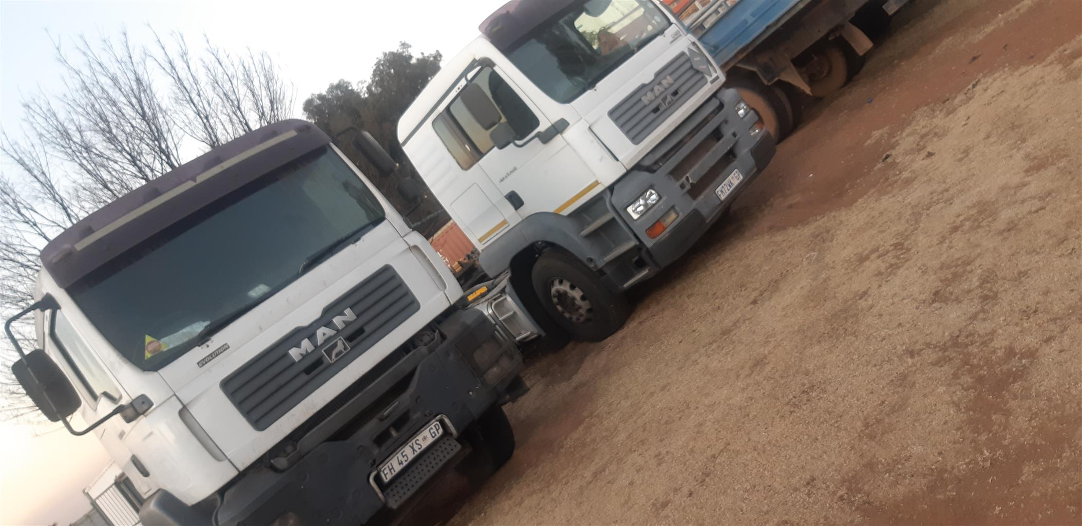 MAN tgs/tga trucks stripping for parts
