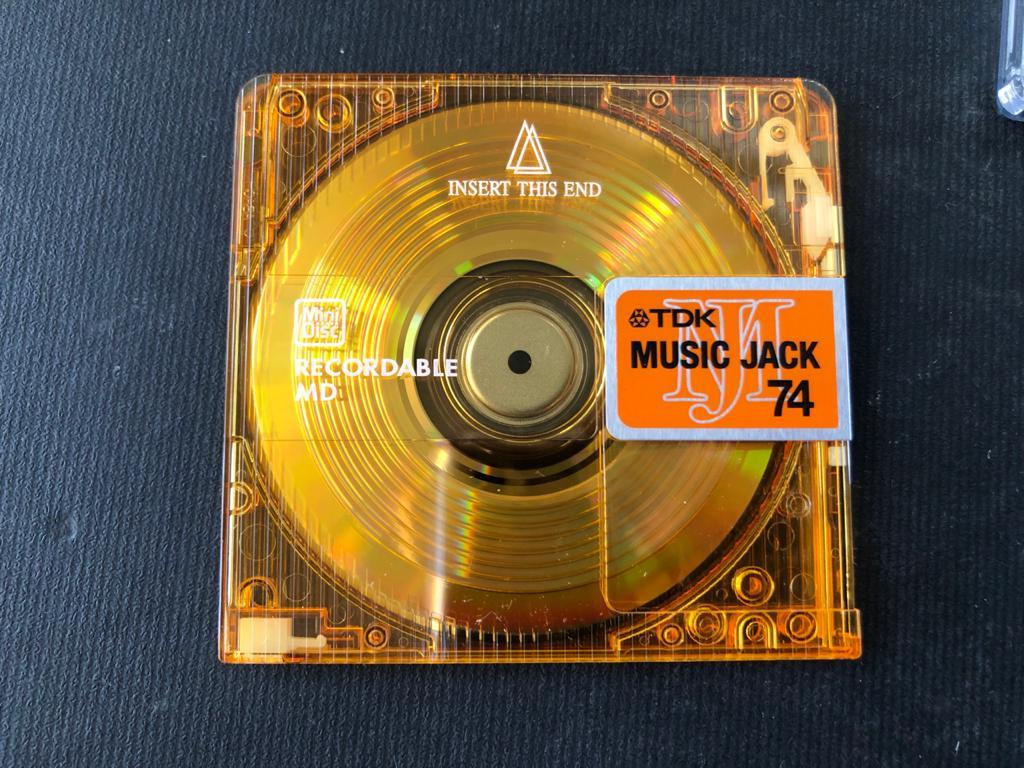 TDK Recordable Mini Discs - BRAND NEW and unused-price per disc