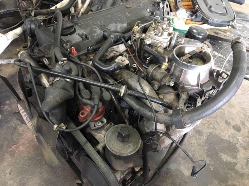 Mercedes-Benz Complete M102 Engine (W201, W124, W123) with 4