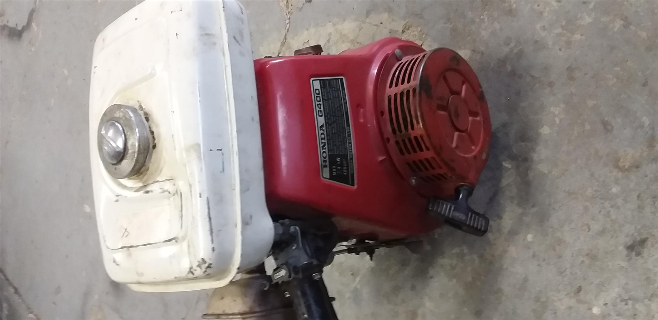 Honda G400  7.4kw engine