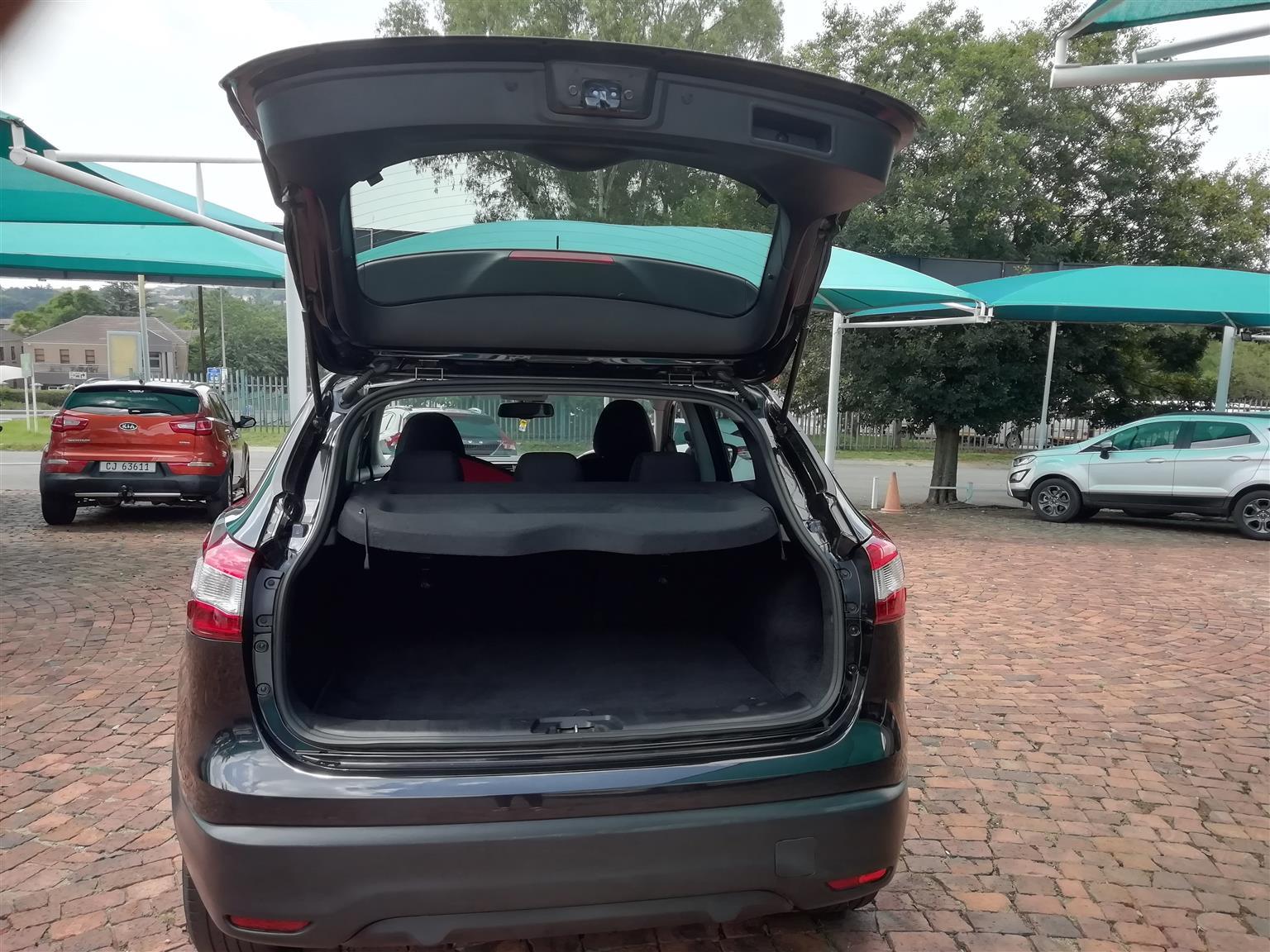 2016 Nissan Qashqai QASHQAI 1.2T ACENTA PLUS CVT