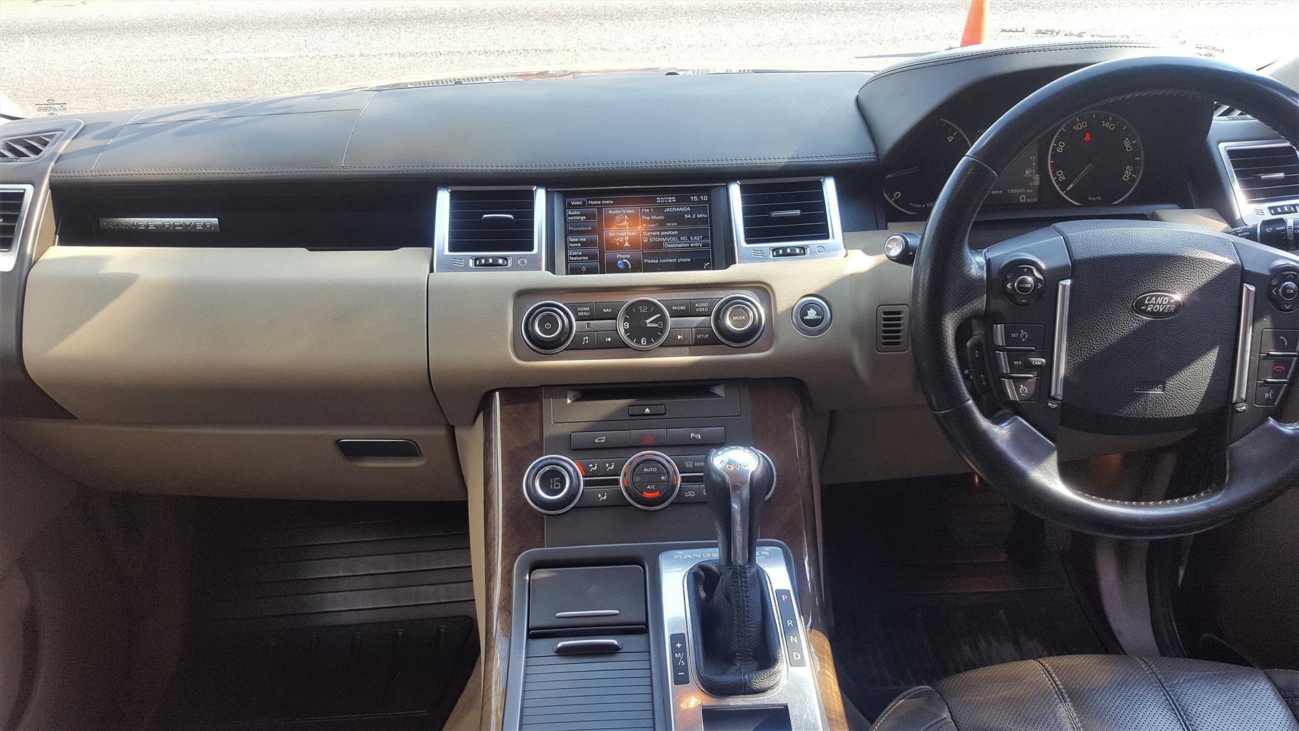 2012 Land Rover Range Rover Sport SDV6 HSE Luxury