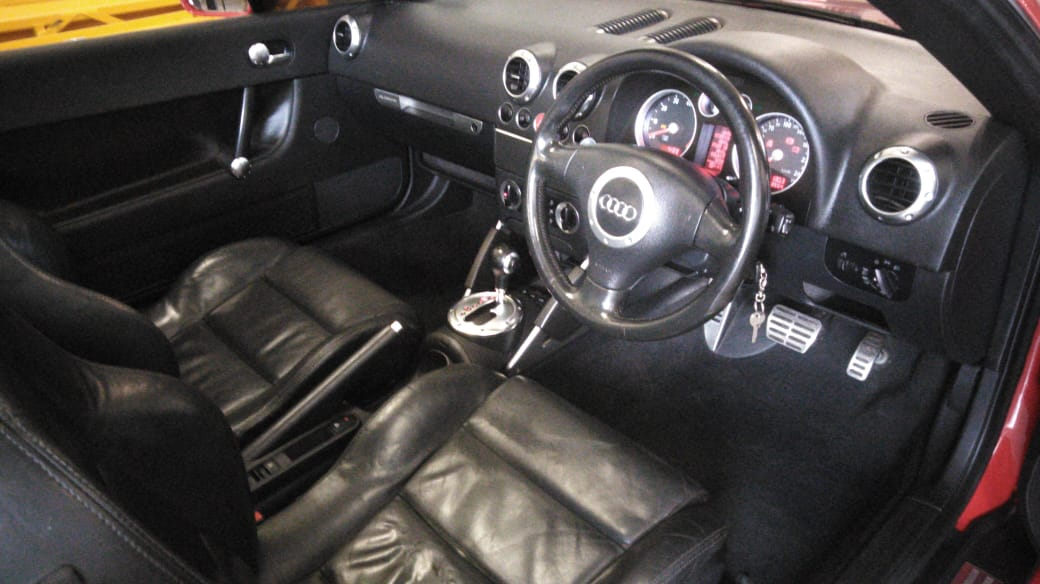 2004 Audi TT 3.2 roadster quattro s tronic
