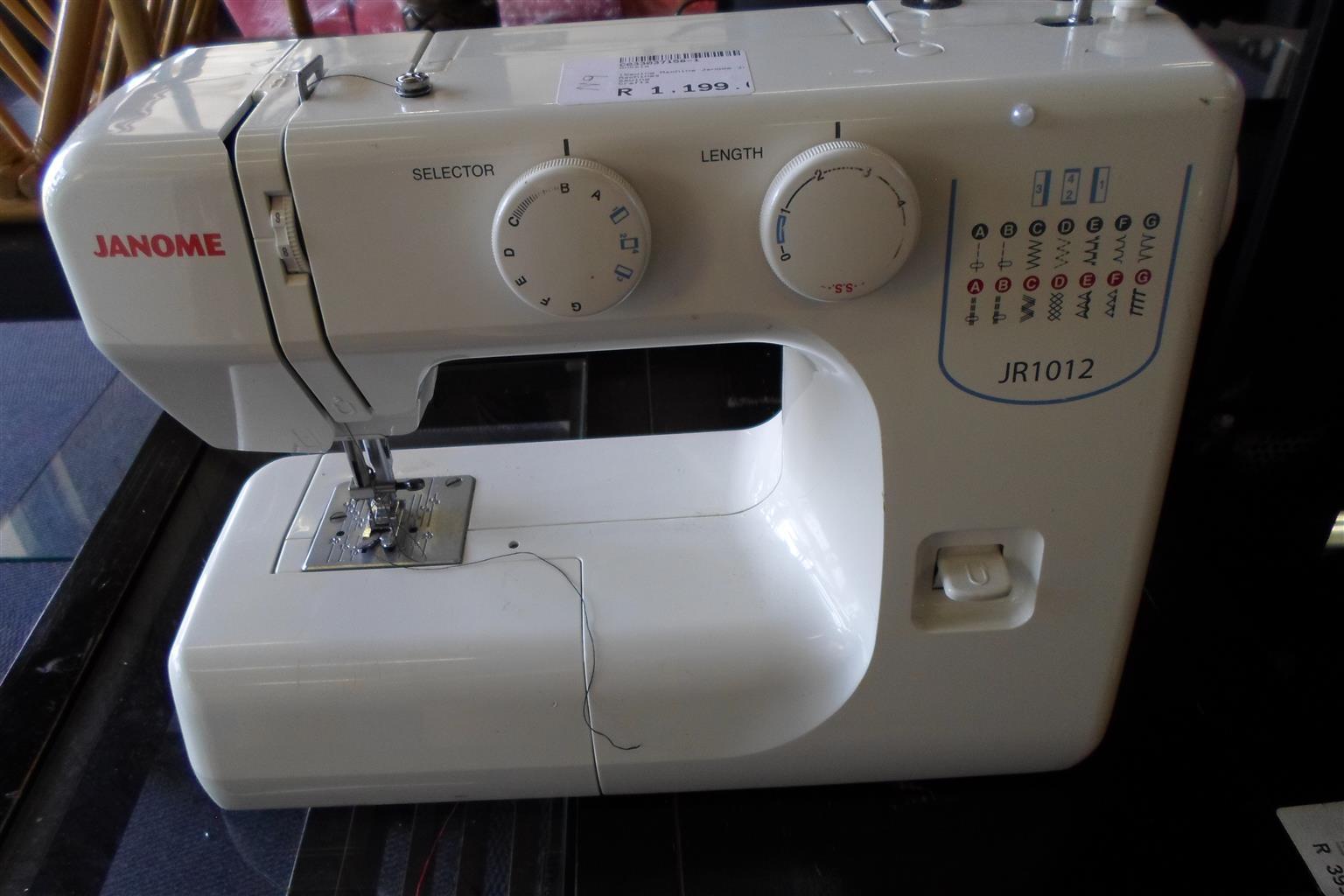 Janome JR1012 Sewing Machine