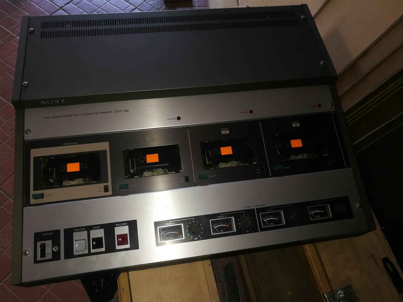 Sony Cassette to Cassette printer CCP-13B