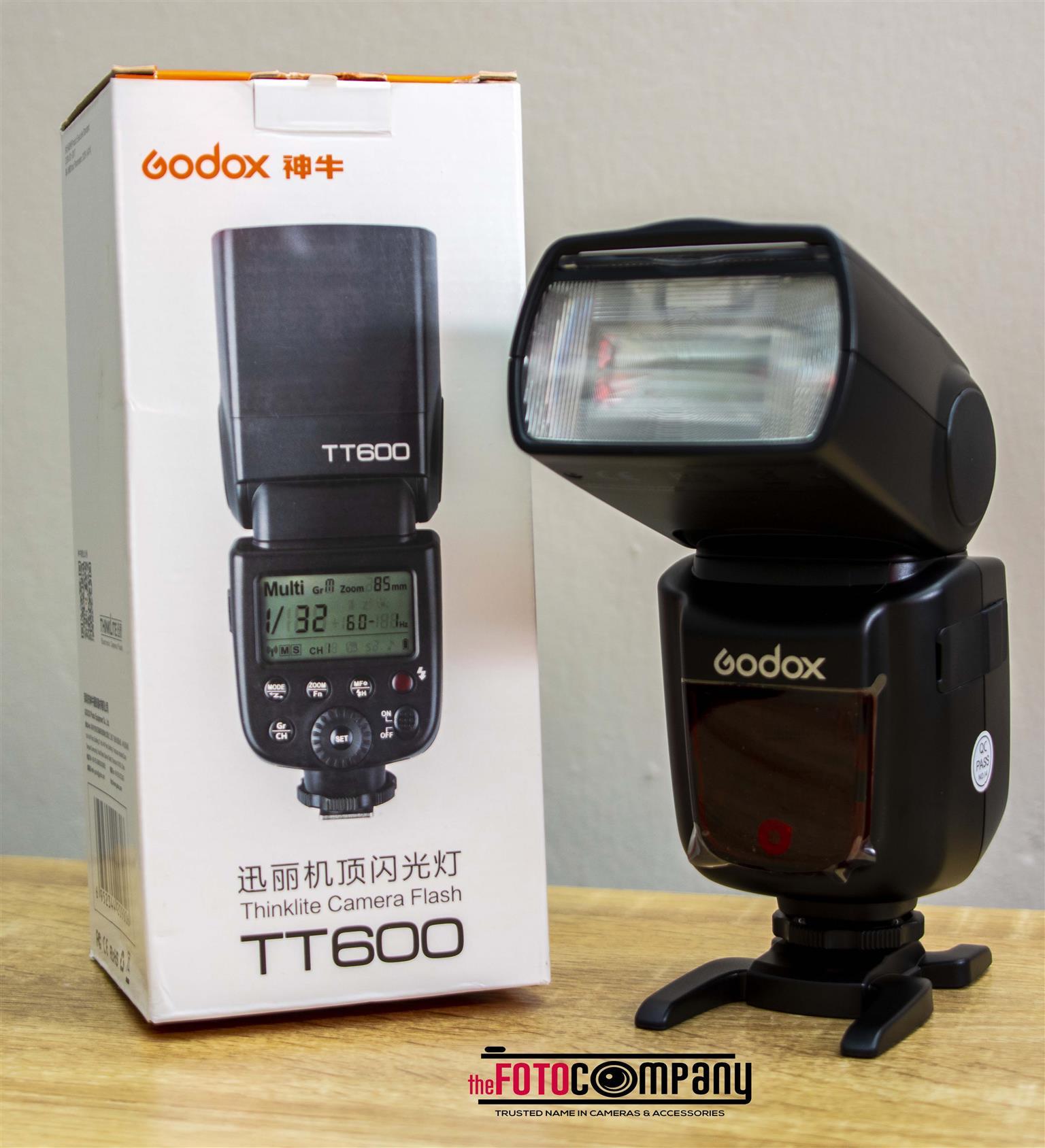 godox tt600 speedlites