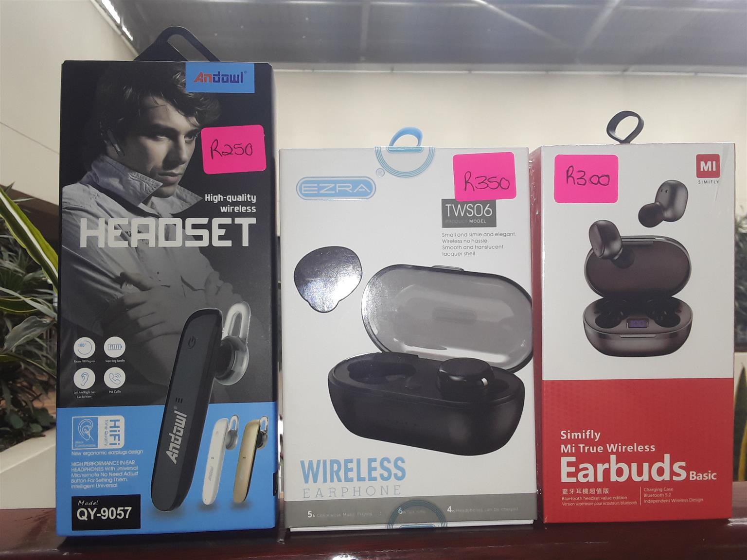 Headphones, Wireless Ear Phones