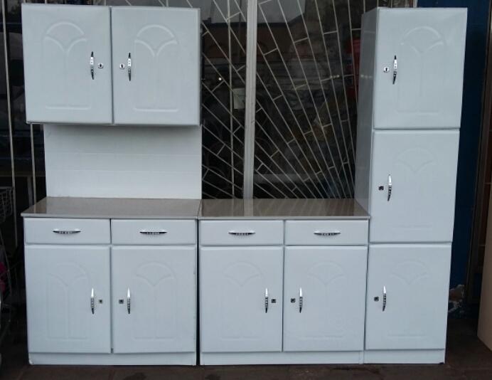 Brand New 3 Piece Steel Kitchen Cupboards Junk Mail