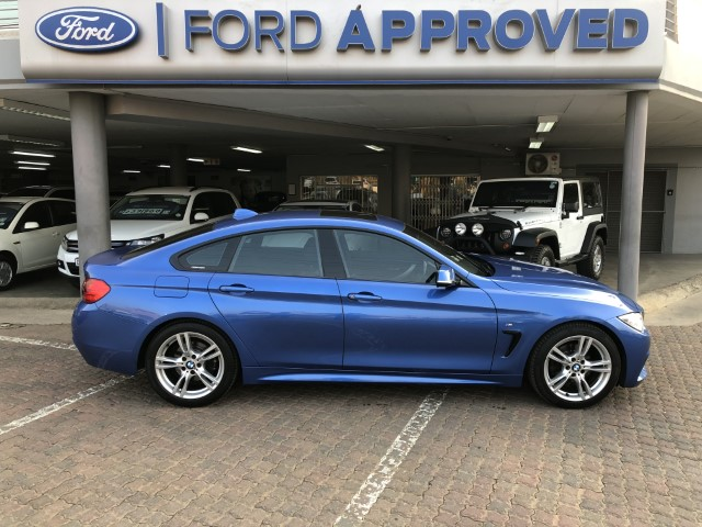 2016 BMW 4 Series Gran Coupe 420i GRAN COUPE M SPORT  A/T (F36)