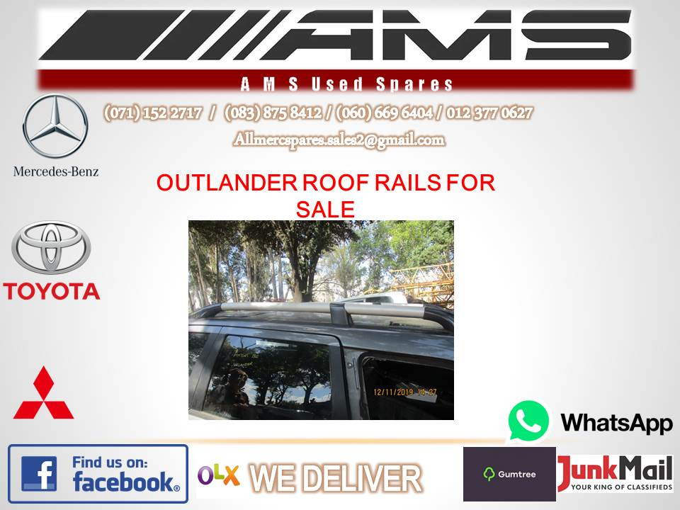 MITSUBISHI OUTLANDER ROOF RAILS FOR SALE (SECOND HAND)