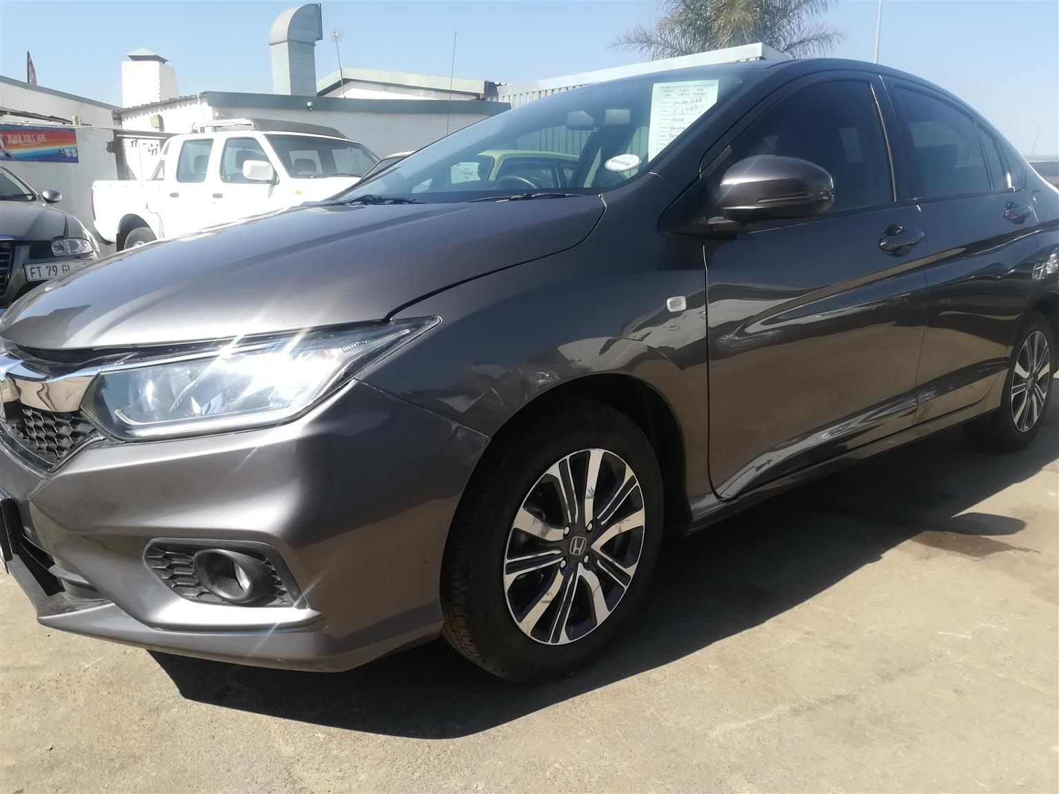 2017 Honda Ballade 1.5 Elegance