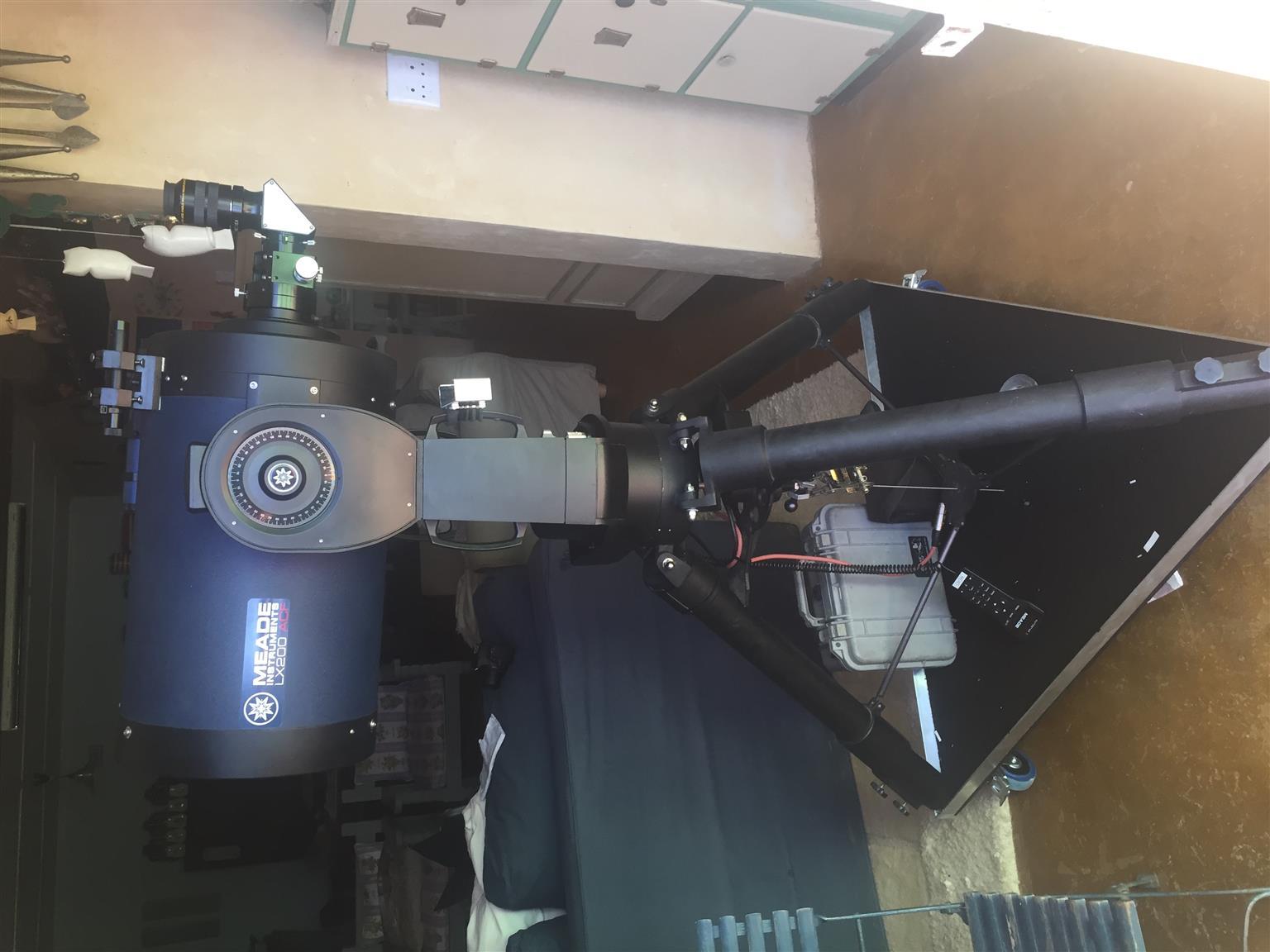 """Meade 12"""" SCT GPS LX200 Telescope"""